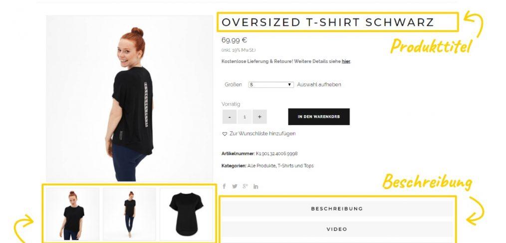SEO für Onlineshops: Produkte optimieren